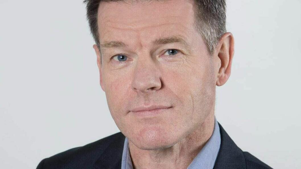 Forbundsleder Bent Ronny Mikalsen. Foto: Anne Elisabeth Næss